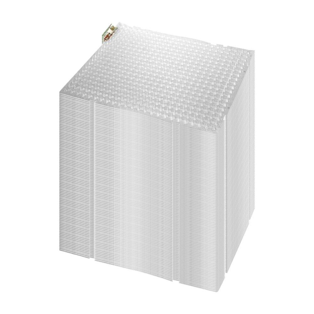 ネコよけ対策マット 『ここダメシート透明』 100枚入り (W335×L420mm) B07BF4FS4Y