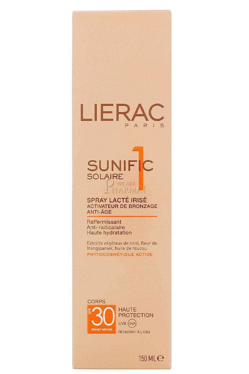 LIERAC Latte Solare Sunific 30 SPF 150 ml 1908 LRC00007
