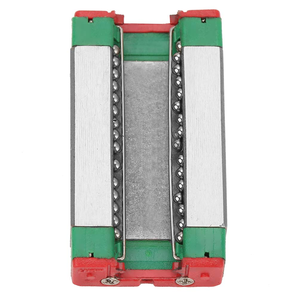 MGN7H 200mm Mini Linear Guide Rail Linear Rail Block 1Pcs 17mm Width Standard Length Sliding Block for Industrial