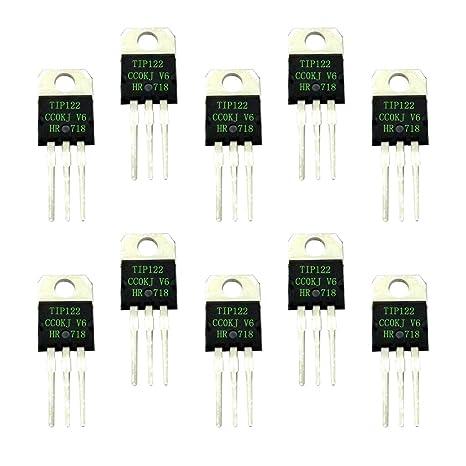 F Fityle Juego de Transistores Darlington Fuente de Alimentación del Amplificador de Potencia