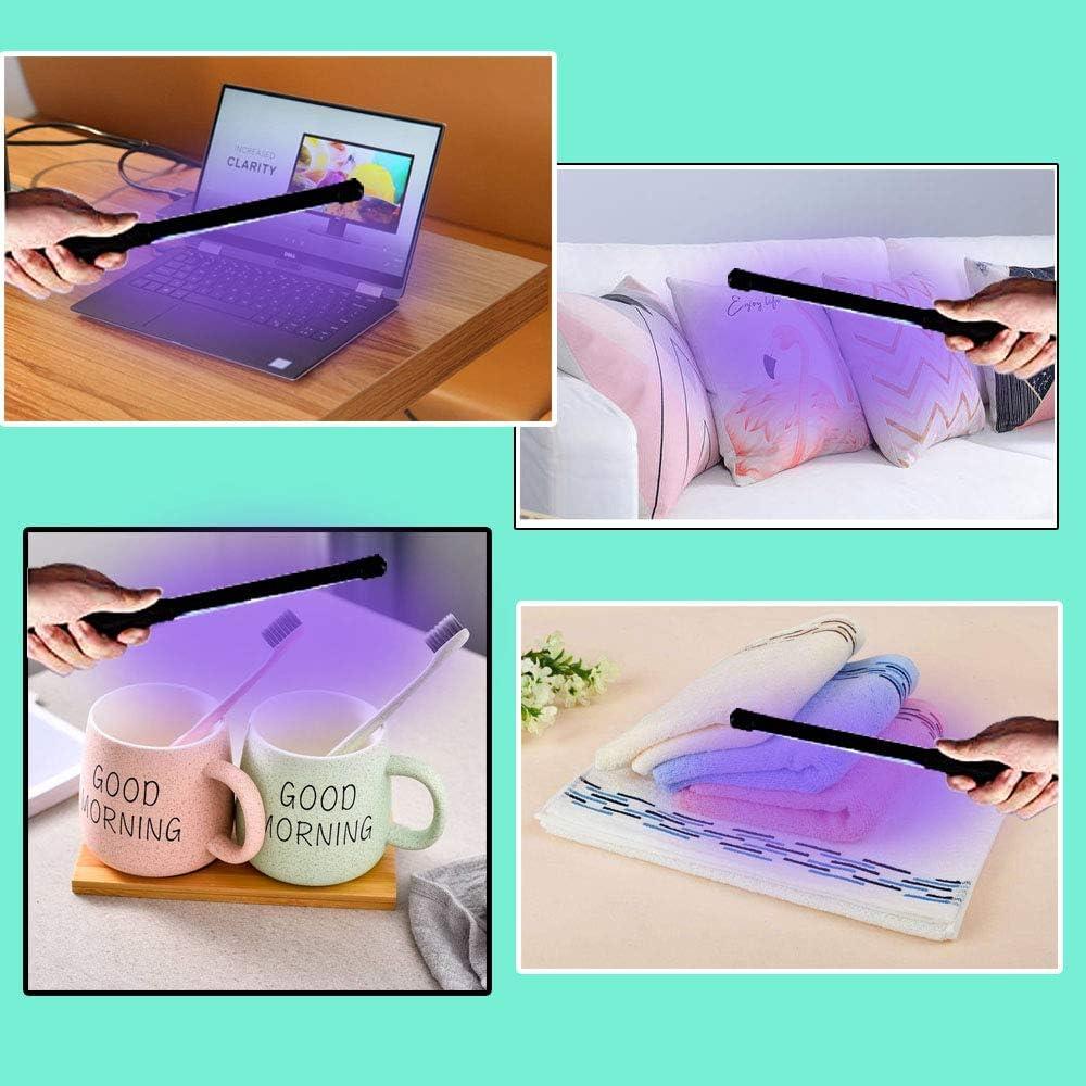 Handheld UV Sanitizer Wand for Hotel Household Wardrobe Toilet Car Pet Area as Phone Sanitizer UV WAPAG UV Light Sanitizer Portable UV Sterilizer