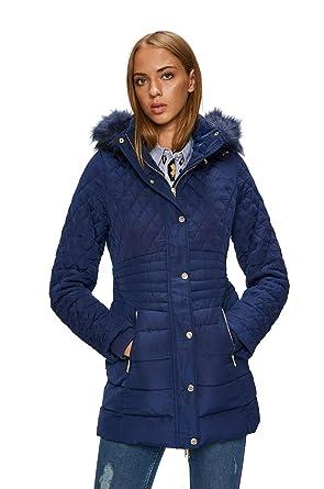 Guess Doudoune Femme Suzanna Bleu - Taille - XS d9a40a13324c