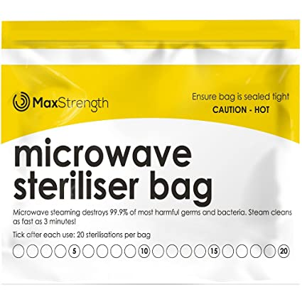 Bolsas de Esterilizador de Microondas Paquete de 20pc Prima ...