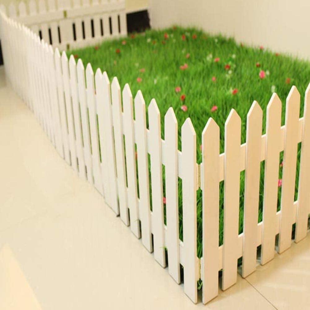 YINUO Cercos Cerca del jardín postal pantalla secundaria barandilla de madera Jardín poste de la cerca de la pantalla desgaste resistente artesanal de Protección Ambiental de madera sólida cubierta Es: Amazon.es: Hogar