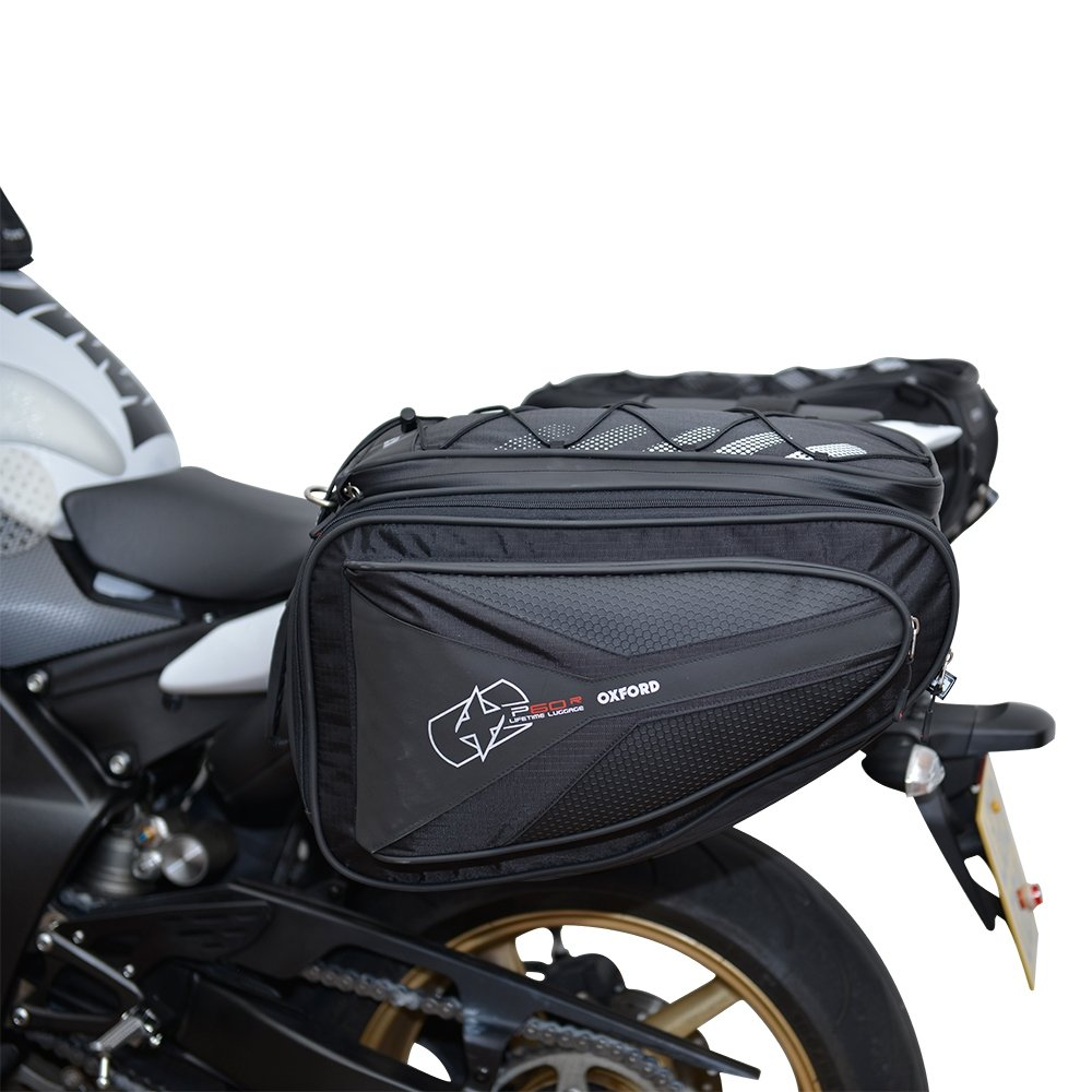 Oxford Motorcycle P60R Lifetime Panniers WP  –   60  Litres UK Seller Oxford Motorcycle P60R Lifetime Panniers WP - 60 Litres UK Seller OL305