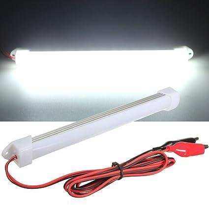 Audew 12 V Interieur Barre Lumineuse Bande Lumineuse Tube Lampe