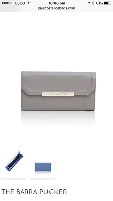 b3157ec424d5 Paul costelloe collection purse - khaki Green  Amazon.co.uk  Shoes   Bags