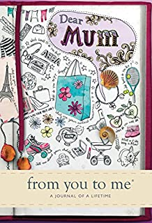 Book of me do it yourself memoir notebook diary amazon dear mum from you to me memory journal capturing your mothers own amazing stories solutioingenieria Images