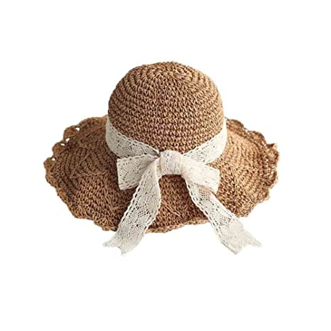 Sunny Honey Sombrero de Paja Sombrero de Visera de Sombrero de Mujer  Sombrero de Playa Sombrero 5da61952659