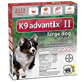 K9 ADVANTIX II FOR LARGE DOGS by K-9 Advantix