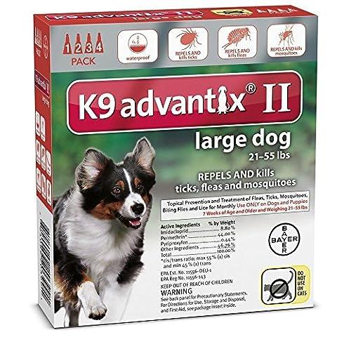 K9 ADVANTIX II FOR LARGE DOGS by K-9 Advantix - Advantix Flea Treatment
