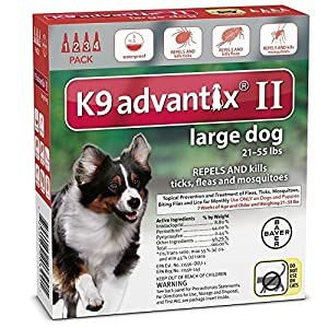 K9 ADVANTIX II FOR LARGE DOGS by K-9 Advantix 1