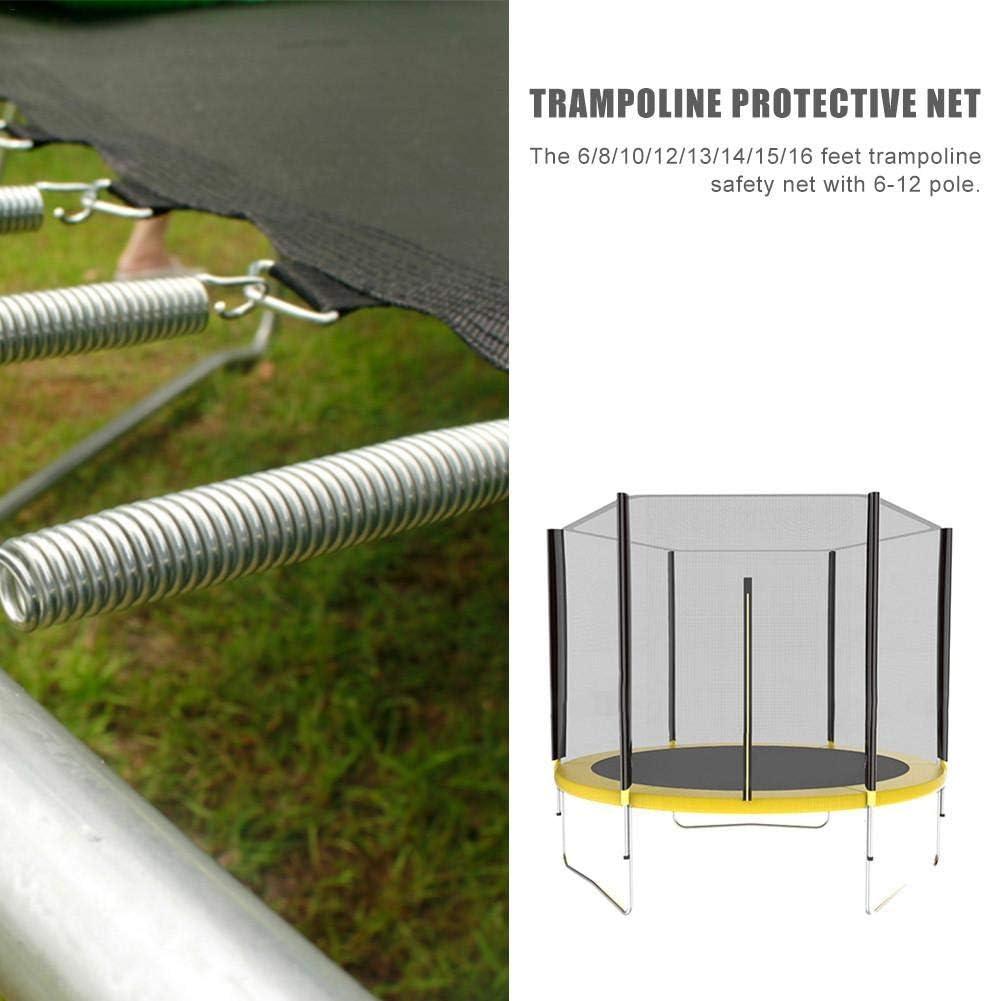 Tapis de remplacement pour trampolineTapis de saut de qualit/é sup/érieure et s/écuritaire S/électionnez la forme et la taille de votre trampoline option 12 tailles Pi/èces universelles pour trampoline