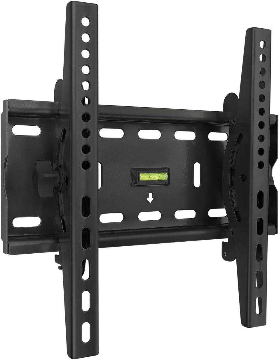TooQ LP4537T-B, Soporte Fijo Inclinable de Pared para Monitor/TV/LED de 32