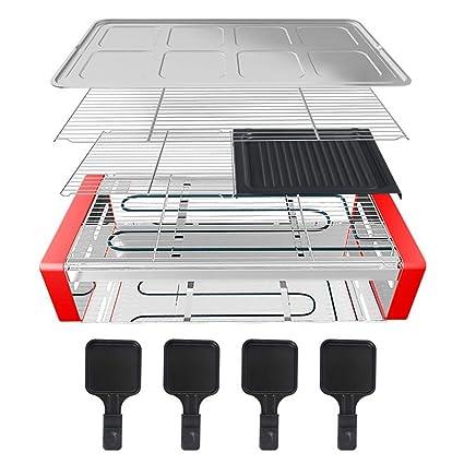 Amazon.com: Parrilla eléctrica sin humo, ahorro de energía ...