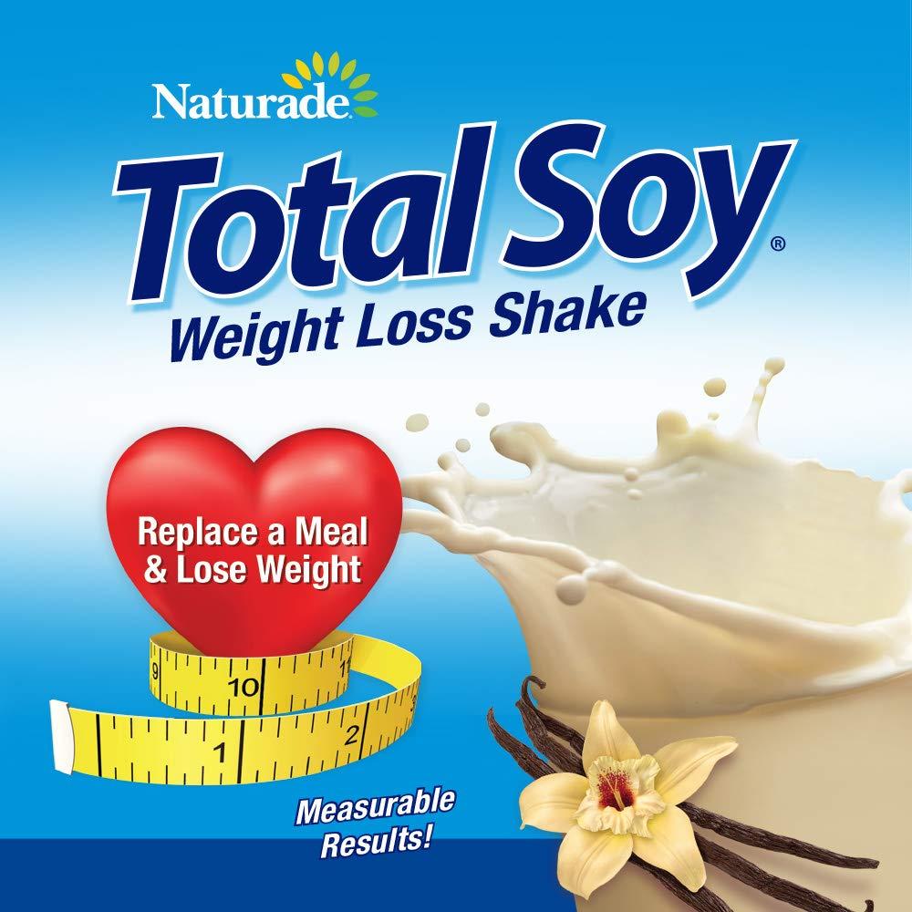 Naturade Total Soy Weight Loss Shake– Vanilla – 19.1 oz (Natural & Artificial) by Naturade (Image #2)