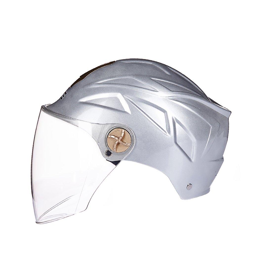 訳あり ヘルメット ヘルメット Silver ヘルメット/UV保護オートバイのヘルメット夏の日の保護ヘルメット色のオプションのヘルメットのパーソナリティファッションの様々な color (色 : グレー) B07D8S6M7V Silver color Silver color, 鶴来町:8966f547 --- a0267596.xsph.ru