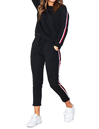 Damen-hausanzug-jogging-anzug-sportanzug Gr L Xl