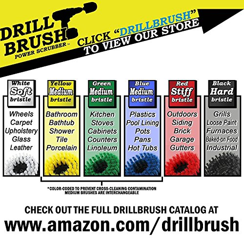 Outdoor - Garden - Patio - Scrub Brush - Clean and Remove Algae, Mold, Mildew, and Moss - Deck Brush - Bird ...