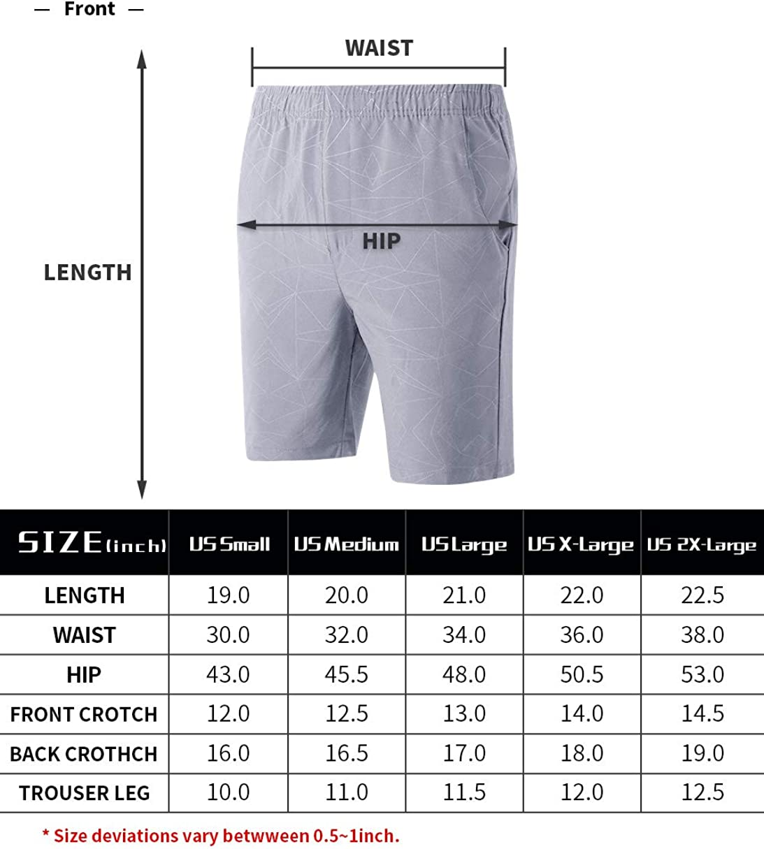 LTIFONE Mens Workout Shorts Spandex Gym Training Bodybuilding Exercise Quick Dry Shorts: Clothing