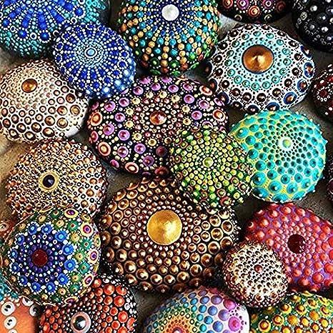 8PCS Selotrot 1 Set Mandala Puntini Attrezzi Canne Sfera Stylus Dipinto Ceramica Plastilina Artigianato Unghie Set Timbri