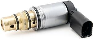 AC Compressor Control Solenoid Valve Fits Volkswagen Jetta Sanden PXE16 PXE14 1K0820803E - VW GTI, Golf, Passat, Tiguan, Jetta TDI and more - Audi A3 - Control Valve, Compressor Pressure Valve