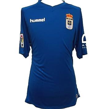 Real Oviedo Camiseta de la Temporada 2015 - 2016 XL: Amazon.es: Deportes y aire libre