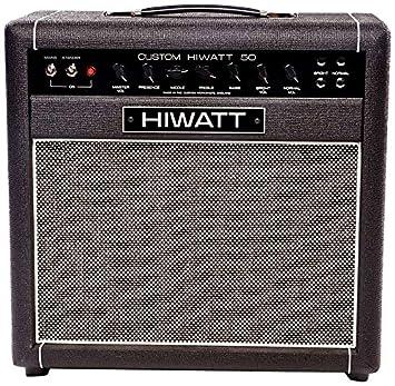 Hiwatt SA112 Custom 50 Combo-Amplificador para guitarra cada lámpara