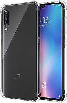 SPARIN Funda Xiaomi Mi 9, Carcasa Xiaomi Mi 9 TPU Transparente ...