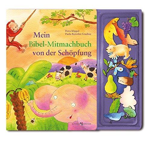 Mein Bibel-Mitmachbuch von der Schöpfung: Mit 14 Magnetstickern