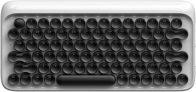 Teclado Retro Lofree Dot Teclado mecánico inalámbrico Bluetooth para Mac, Android, Windows con retroiluminación LED Blanca y batería Recargable ...