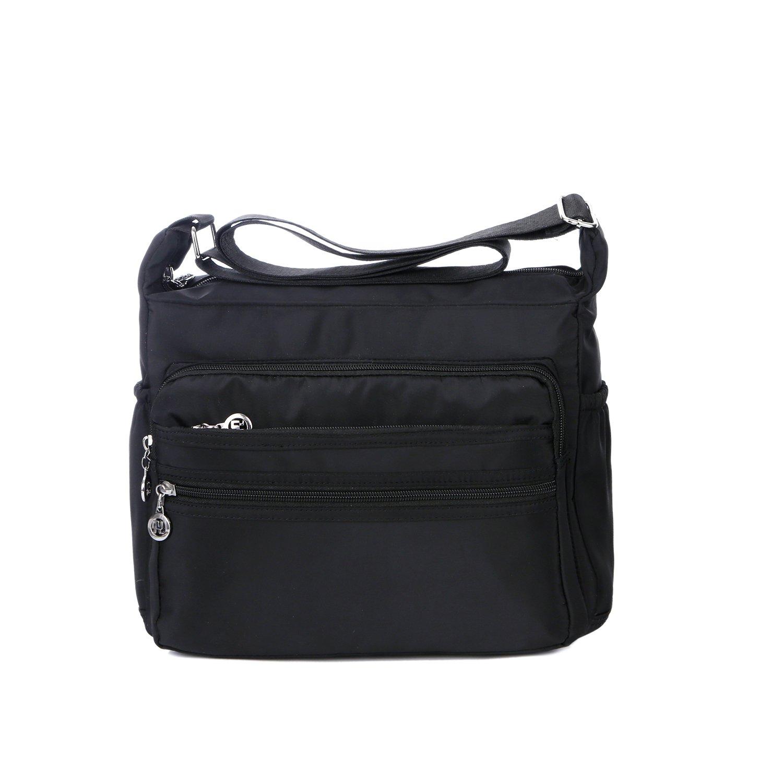 Crossbody Bag for Women Waterproof Shoulder Bag Messenger Bag Casual Nylon  Purse Handbag  Handbags  Amazon.com 3e30f1451f9be