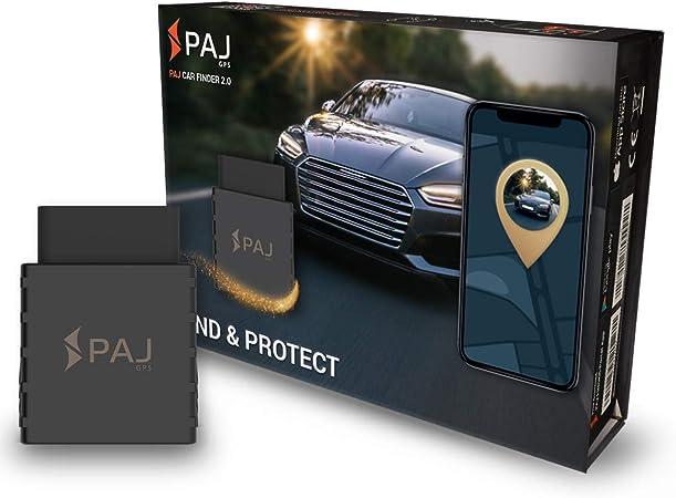 Paj Gps Car Finder 2 0 Gps Tracker Für Auto Fahrzeuge Und Lkw S Gps Sender Kfz Obd2 Mit App Autofinder Live Echtzeit Baumarkt