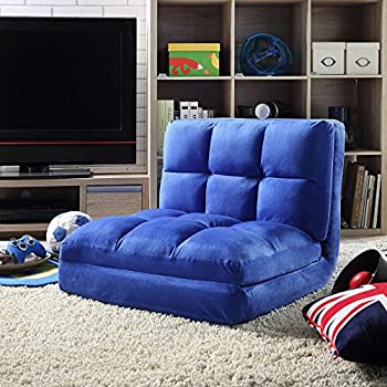 Amazon Com Loungie Micro Suede 5 Position Adjustable