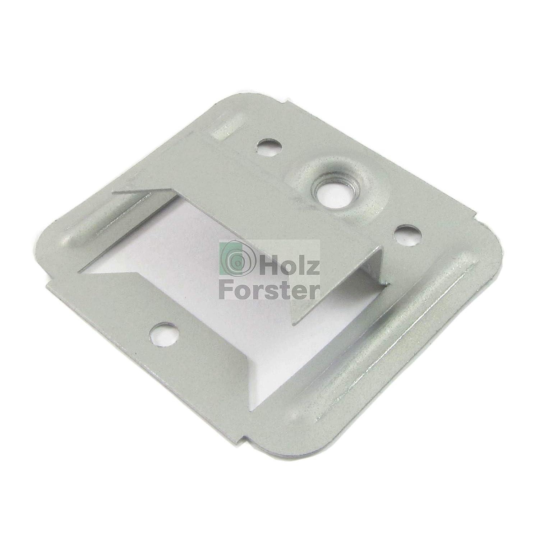 100 St/ück FR/ÜH Nut-Feder-Profil Schraubkrallen 5x8,5mm 105SK SB mit Schrauben