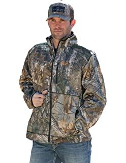 c74324569b813 Cinch Men s Realtree Xtra Camo Midweight Bonded Fleece Jacket - Mmj5014001  MUL
