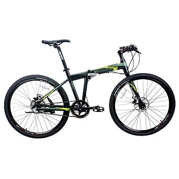Hxx Bicicleta Plegable De Montaña, Marco De Aleación De Aluminio ...