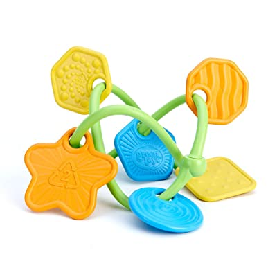 Green Toys Twist Teether Toy : Baby Teether Toys : Baby