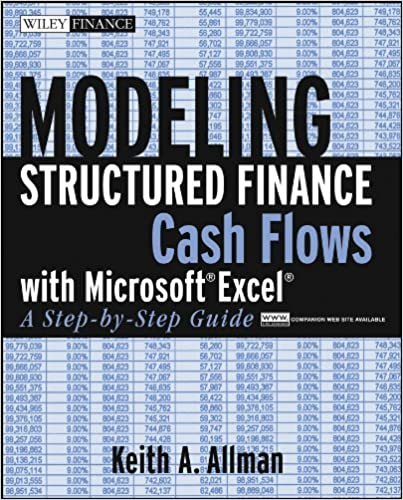 amazon com modeling structured finance cash flows with microsoft