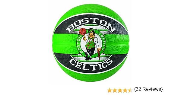 Spalding NBA Team Boston Celtics 83-505Z Balón de Baloncesto ...