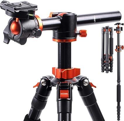 K F Concept 170cm Kamerastativ Tm2515t1 Stativ Mit 90 Kamera