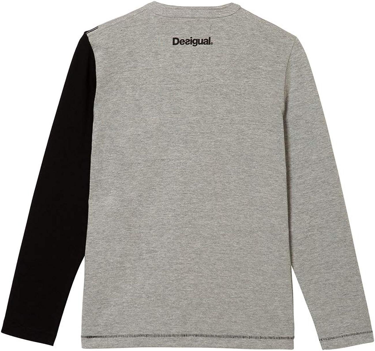 Desigual T-Shirt Urbano Maglietta a Maniche Lunghe Bambino