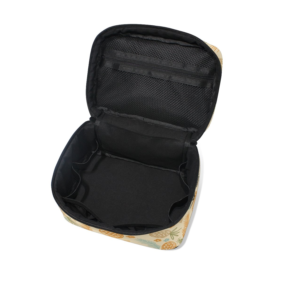 Amazon.com: Maquillaje bolsa de piña pintura de viaje bolsas ...