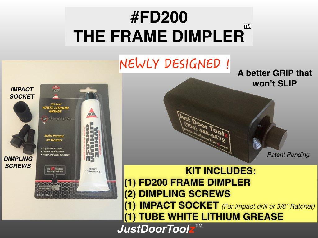 THE FRAME DIMPLER