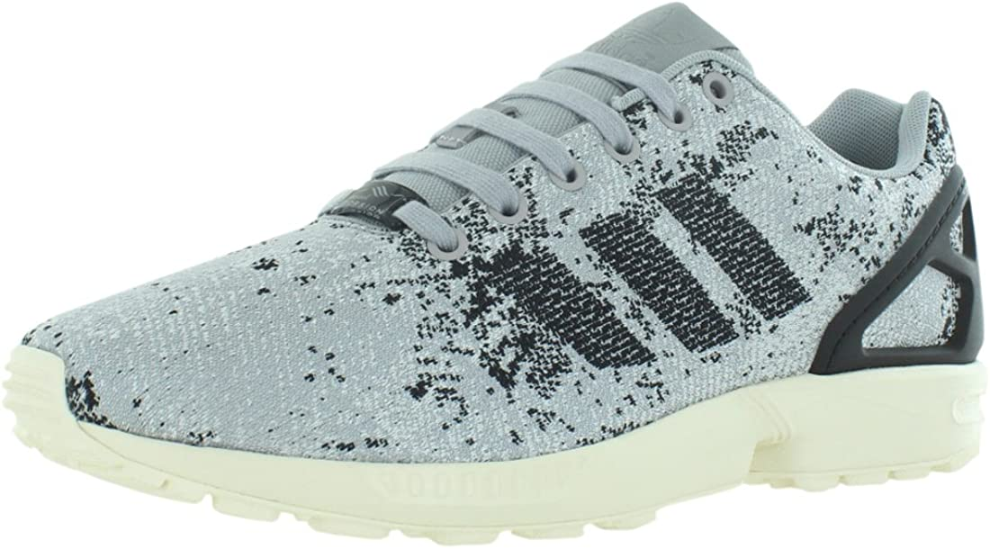Adidas Mens Flux Weave Low Top Lace Up Running, Moon Surface Cement, Size 9.0
