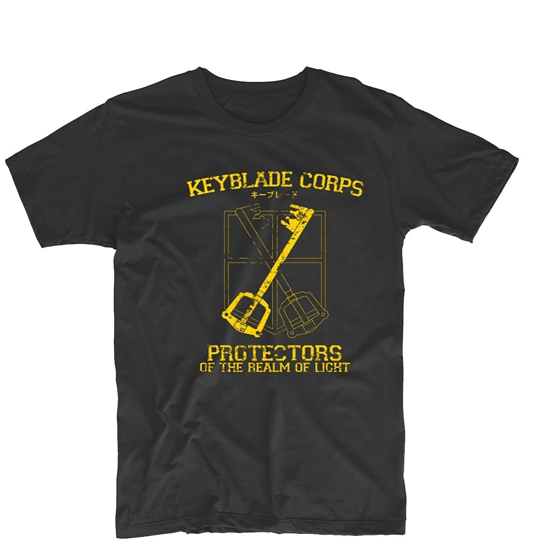 Arnoldo Blacksjd Keyblade Corps Kingdom Hearts Keyblade Master Unisex Printing Design Tee