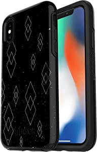 OtterBox Symmetry Series Case for iPhone Xs & iPhone X - Non-Retail Packaging - Sky of Diamonds