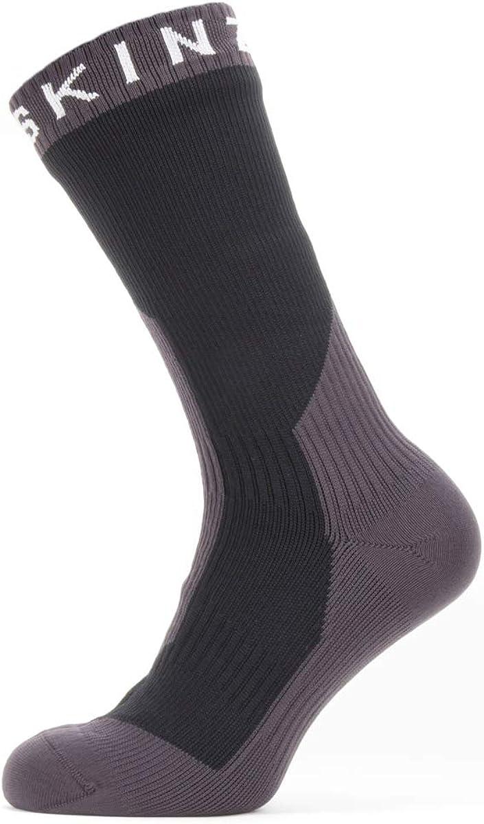 SealSkinz wasserdichte Mid Weight Mid Length Socken