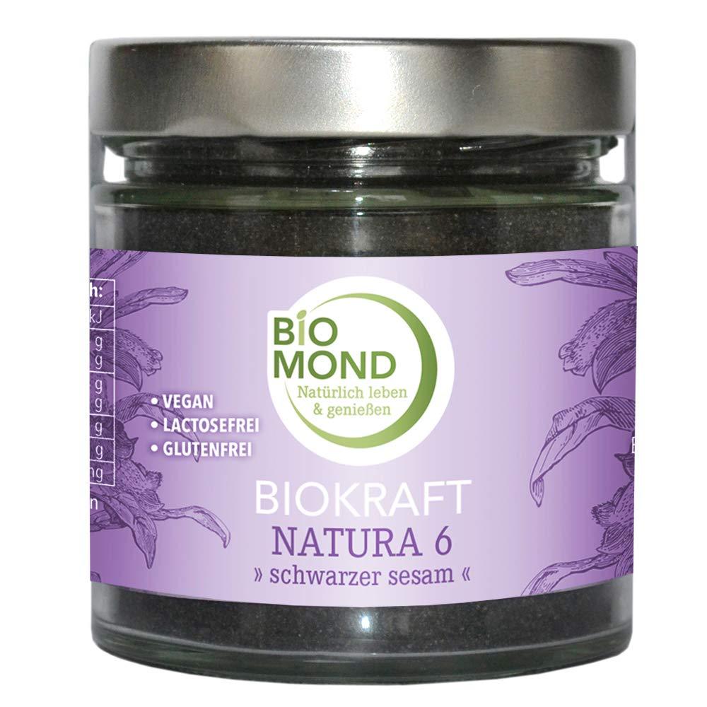Bio Negro Sesam – biokraft Natura 6: Amazon.es: Salud y cuidado ...