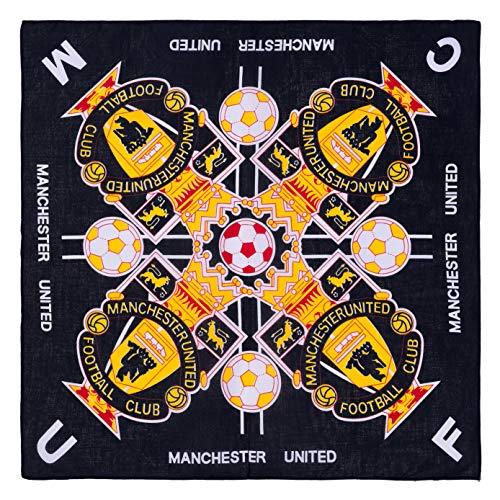 Manchester United Football Club Bandana Soccer Fc Blue